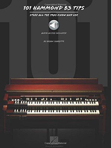 101 Hammond B-2 Organ Tips Bam Bk