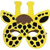Máscara de jirafa niño o niña - Única