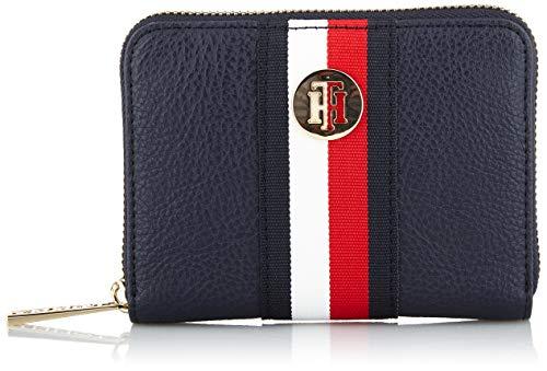 Tommy Hilfiger Damen Th Core Med Za Wallet Umhängetasche, Weiß (Corporate), 2.5x10.199999999999999x12.7 cm -