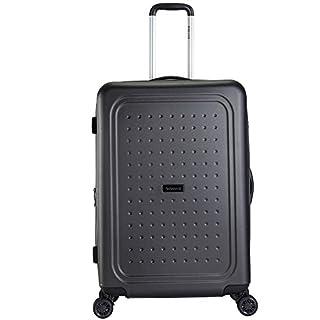 Decent Maxi-air Expendable Suitcase 77 cm, Charcoal (Black) - RK-7229D-ANTRA