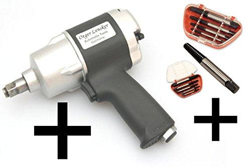 Clé à choc pneumatiques 1/ 2″ 610 Nm + 5 extracteur de vis – tourne á gauche coniquepas cher