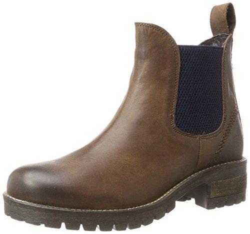 Black 264 484, Chelsea Boots Femme, Noir, 36 EU