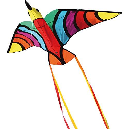 Invento 106522-Tropical Bird Niños Dragón einleiner, a Partir de 5años, 75x 150cm Poliéster Ripstop 2-5Beaufort