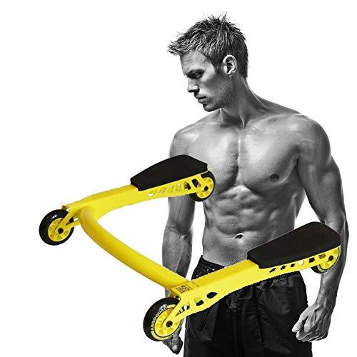 AB Carver Pro Roller, Ab Roller Rad Bauch-Übung Roller Mit Kniepolstern Mat & Comfort-Schaum-Griffe - Perfekt Für Fitness Heim & Gymnastik-Training
