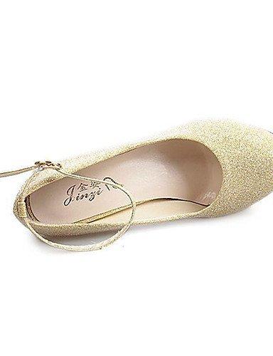 WSS 2016 Chaussures Femme-Décontracté-Noir / Rouge / Blanc / Or-Talon Aiguille-Talons-Chaussures à Talons-Polyuréthane black-us5 / eu35 / uk3 / cn34