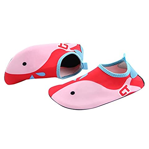 Play Tailor Kids Swim Water Shoes Aqua Socks for Beach Pool