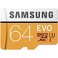 Samsung MB-MP64GA/EU Carte mémoire MicroSD Evo 64G avec adaptateur SD