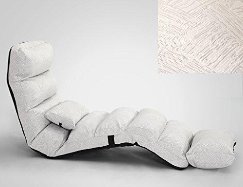 Chaise pliante de chaise longue de sofa de chaise de dossier de lit pliable de loisirs chaise 205 * 54cm (Couleur : A)
