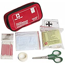 TRAVEL FIRST AID KIT SMALL - ST JOHNS FIRST AID - NYLON POUCH - 29 COMPONENTS - SJF T2