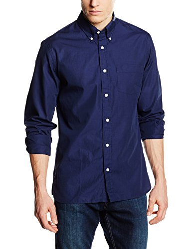 Brooks Brothers Herren Freizeithemd Red Fleece Sport Shirt (00488) Navy 100000488