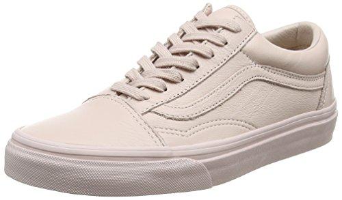 Vans Unisex-Erwachsene Old Skool Skateschuhe, Pink (Leather), 38 EU (Vans Schuhe Herren Pink)
