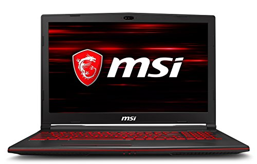 MSI Gaming MSI GL63 8RD-062IN 2018 15.6-inch Laptop (8th Gen Core i7-8750H/8GB/1TB/Windows 10/4GB Graphics), Black image