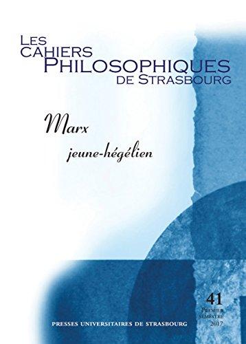 Marx jeune-hégélien