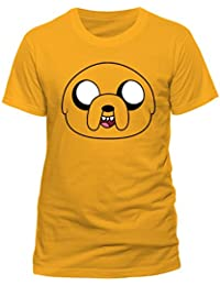 Adventure Time Jake Face T-shirt (Yellow)