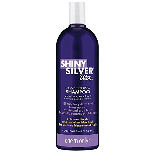 Ultra Conditioning Shampoo (One 'n Only Shiny Silver Ultra Conditioning Shampoo 33.8 fl. oz.)