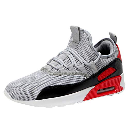 best loved 284d6 f314b Homme Chaussure de Sport en Plein Air Overmal Baskets Mode Respirantes  Comfortable Lacets Chaussures de randonnée
