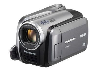 Panasonic SDR-H40EG-S Camcorder (SD-Karte, 42-fach opt. Zoom, 6,9 cm (2,7 Zoll) Display) (Lcd-flash Panasonic)