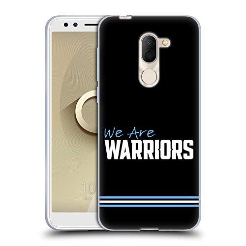 Head Case Designs Offizielle Glasgow Warriors We Are Warriors Logo Soft Gel Huelle kompatibel mit Alcatel 3X (2018)