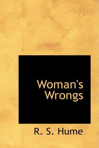 Woman's Wrongs