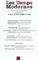 Les Temps Modernes N° 660 N° 660 (Revue Les Temps Modernes) (French Edition)