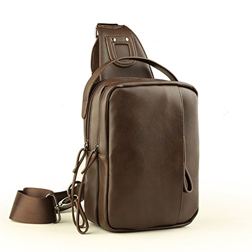 Korean Fashion Herren Brust Tasche/Casual Messenger Bag/Bumbag/Multifunktionale Man Bag-A A