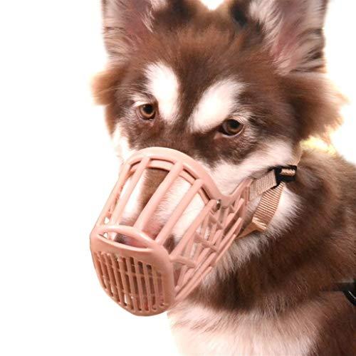 Haar-maske Essen (QIQI-PET Hund Mund Gesetzt Anti-Biss Genannt Chaos Essen Maske Mittelgroße Hund Haustier Hund Mund Abdeckung Goldenes Haar Stop-Gerät Hund Sets Liefert (größe : 3))