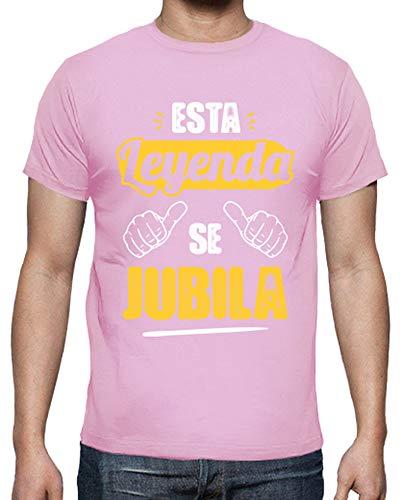 Latostadora - Camiseta Esta Leyenda Se Jubila V2 Hombre