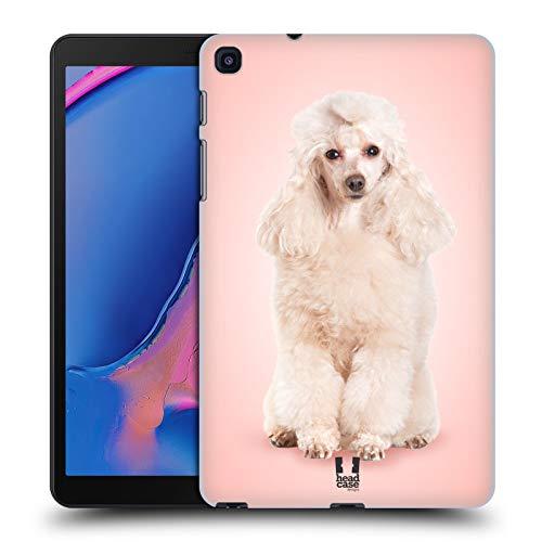Head Case Designs Pudel Portrait Hunderassen Harte Rueckseiten Huelle kompatibel mit Samsung Galaxy Tab A 8 (2019) -