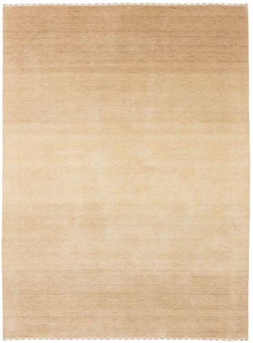 Carpetfine: Alfombra Gabbeh Loom - 175x233 cm - Beige - Tejida a mano - India - Rectangular