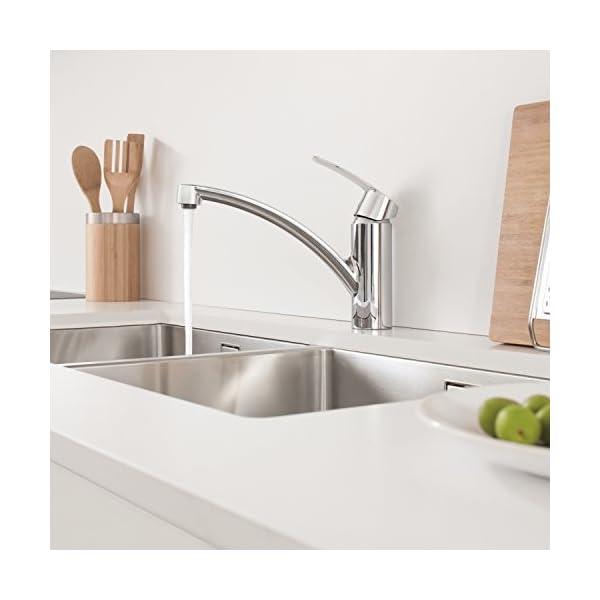 Grohe Start – Grifo de cocina, color cromo (Ref.32441001)