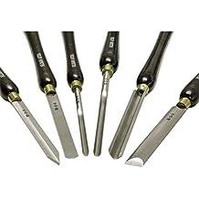 HSS Juego de cuchillos tornear gubias 6 piezas trabajo con torno