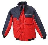 JN810 James & Nicholson Workwear Jacket Robuste, wattierte Jacke mit abnehmbaren Ärmeln schwarz - 5