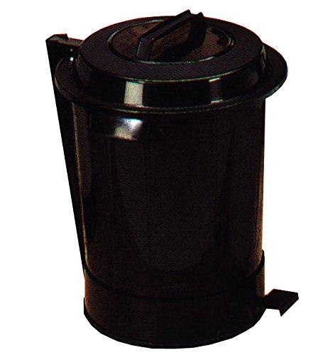 DENOX - Cubo Basura C/Pedal Negro Denox 95 L