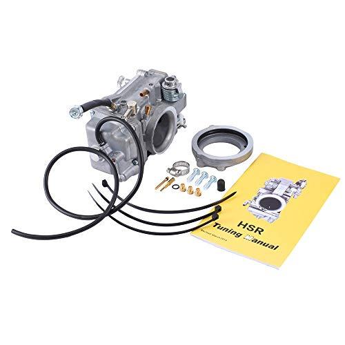 BFHCVDF For Mikuni HSR 42mm Flatslide Carburetor Accelerator Pump Spigot  TM42-642-6278 Silver