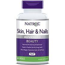 NATROL SKIN - Nail para el cabello con Lutein (60) Estándar, ...