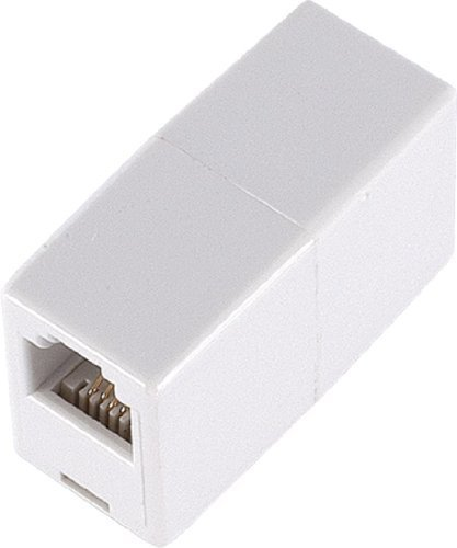 2 X GE TL26190 Telephone In-Line Coupler (White) by Jasco