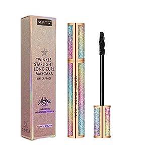 4D Crema de extensión para pestañas de maquillaje resistente al agua, longitud intensa, pestañas voluminosas, de larga…