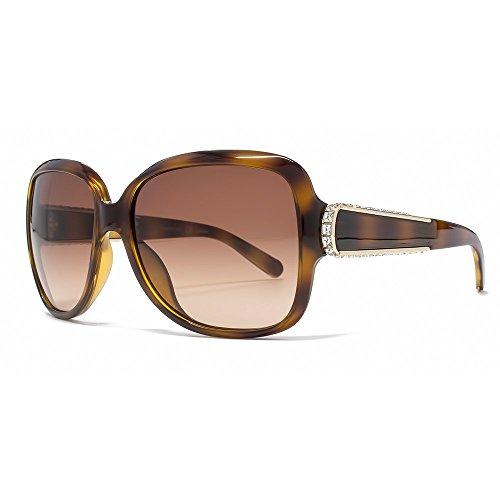 Chloe Diamante-Detail-Sonnenbrille im Tortoise CE612SR 219 59