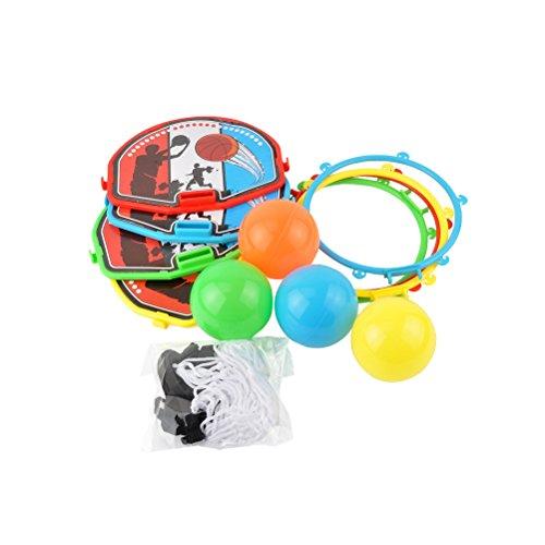 STOBOK Mini Basketball Spielzeug interaktives Spiel Spielzeug Brettspiel Unterhaltung liefert zufällige Farbe