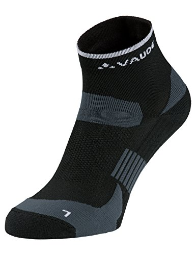VAUDE Socken Bike Socks Short, Black, 42-44, 40134 (Fahrräder Shorts)