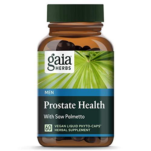 Gaia Herbs - Prostatagesundheit flüssige Pflanzen- Kapseln - 60 Vegetarische Kapseln