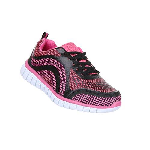 Damen Schuhe Freizeitschuhe Turnschuhe Sneaker Pink