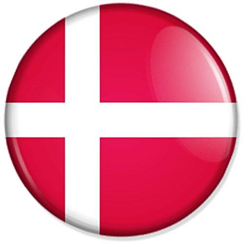 Preisvergleich Produktbild Flagge Dänemark Kühlschrankmagnet Magnet Magneten Pinnwand Magnet Pinnwand