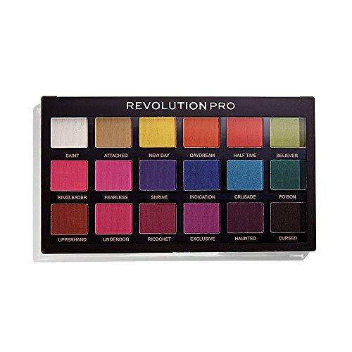Makeup Revolution Pro Regeneration Lidschatten Palette Trends Mischief Mattes