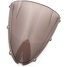 Motocicleta Wave parabrisas Shield viento protector de parabrisas para Kawasaki Ninja ZX6R 636 2005-2008