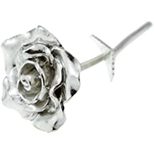 Idea regalo per fidanzata, rosa in metallo eterna come l'amore