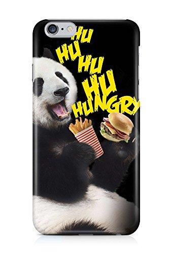 COVER Statement Spruch Panda hungry fast food Design Handy Hülle Case 3D-Druck Top-Qualität kratzfest Apple iPhone 6 Plus (3d-food)