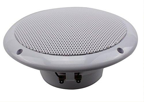 Dietz 2-Wege Marine Lautsprecher, 165 mm, 110 W, 1 Paar Deckenlautsprecher weiß