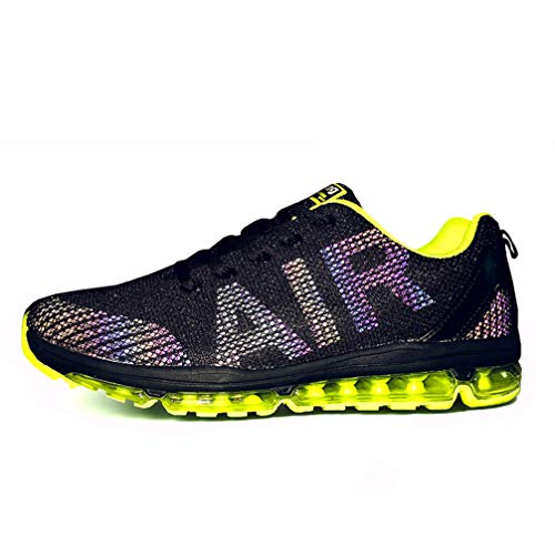Axcone Homme Femme Air Running Baskets Chaussures Outdoor Running Gym Fitness Sport Sneakers Style Multicolore Respirante - GN 41EU