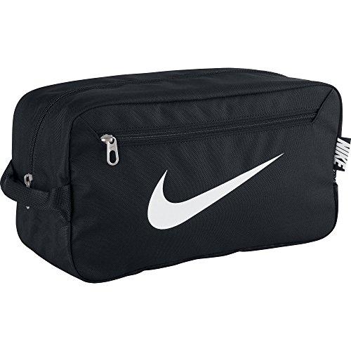 Nike Brasilia 6 Borsa per Scarpe, Nero / Bianco, Taglia Unica